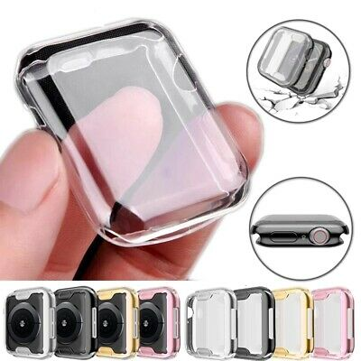 $ CDN4.98 • Buy 360° Full Screen Protector Slim Soft Case Cover For Apple Watch Series SE 6 5 4
