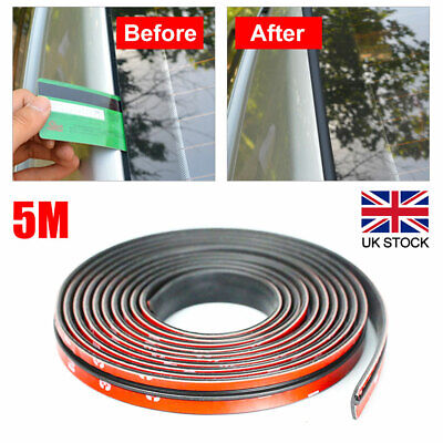 5m Car Windshield Roof Rubber Insulation Seal Strip Edge Protector Sealing Trim • 7.55£