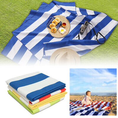 AU28.08 • Buy Sand Free Travel Beach Towel Blanket Quick Dry Super Absorbent Fast Delivery