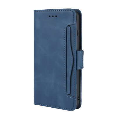 Protective With Card Slots Faux Leather Flip Wallet Phone Case For Iphone 7 • 7.33£