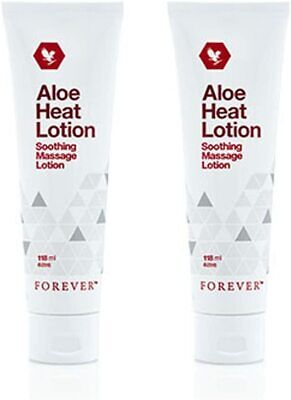 £22.85 • Buy ✨2 ✖ Forever Living Aloe Heat Lotion Soothing Massage Lotion 118ml Original 💥