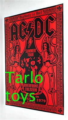 $19.99 • Buy AC/DC ACDC Angus Young - Cincinnati, Usa 2 August 1979 - Concert Poster