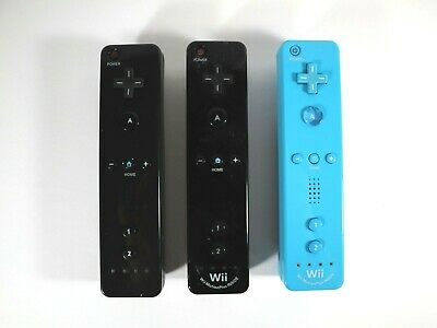 $ CDN24.04 • Buy 2 Nintendo Wii Motion Plus Controllers + 1 3d Party Wii Remote For Parts/Repair