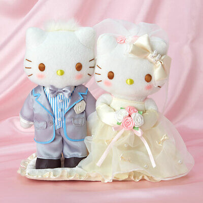 £99.12 • Buy Sanrio Wedding Gift Hello Kitty And Dear Daniel Wedding Doll With Tag From Japan