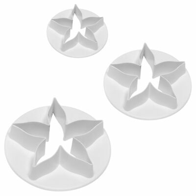 £4.39 • Buy PME CALYX Flower Plastic Icing Cut Out Cutter For Sugarcraft Cake Decorating