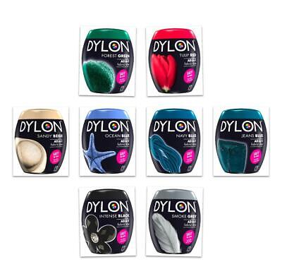 DYLON Washing Machine Fabric Dye Pod For Clothes & Soft Furnishings 350g,8 Color • 6.96£