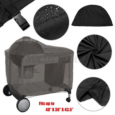 $ CDN45.34 • Buy BBQ Grill Cover Gas Barbecue Outdoor Waterproof For Weber Performer 22  Grill
