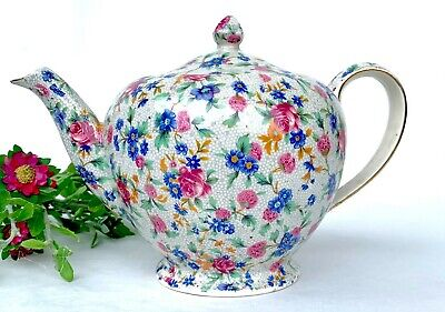 $ CDN111.23 • Buy Royal Winton Splendid Tea Pot Old Cottage Chintz Pattern