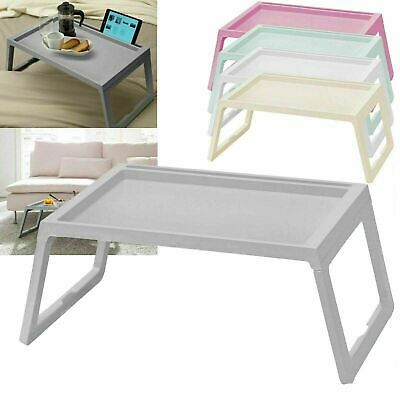 Laptop Lap Tray Portable Folding Desk Computer Table Sofa Notebook Breakfast Bed • 13.79£