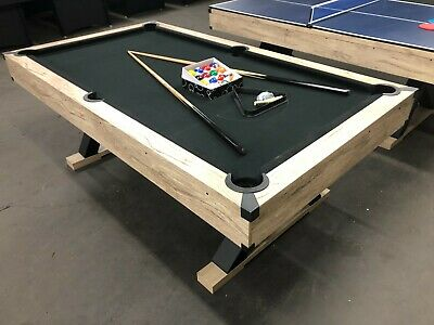 AU799 • Buy X-pro Series - 7 Foot Pool Table / Dining Table /table Tennis With Black Felt