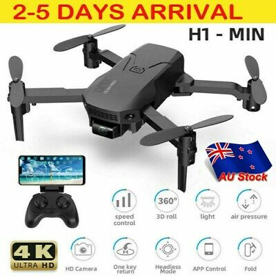 AU39.99 • Buy H1 Mini RC Drone With 4K HD Camera WIFI FPV Foldable Quadcopter Altitude 2021 AU