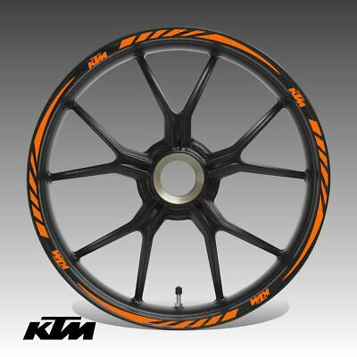 £19.72 • Buy Rim Tape For KTM Stickers Wheel Decals Kit Stickers For KTM R17 Decals Stripes