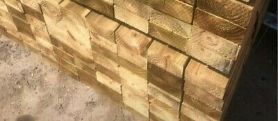 £6 • Buy 4x2 Treated C16 Timber In Various Lengths