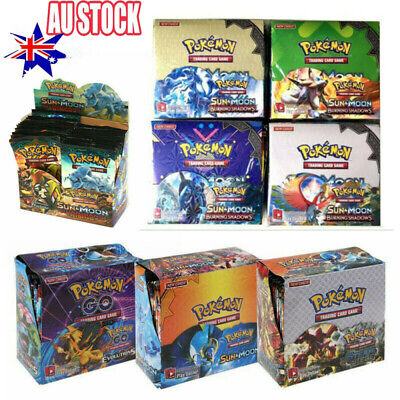 AU28.96 • Buy 324Pcs Pokemon TCG Booster Box English Edition Break Point 36 Packs Cards Set