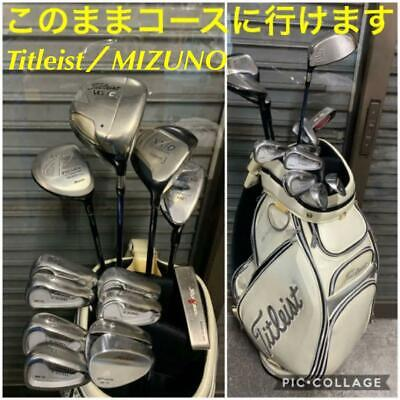 AU1160.82 • Buy TITLEIST Set Of Golf Clubs For Men Collection Authentic From Japan Free