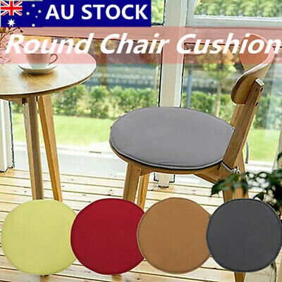 AU9.49 • Buy Round Chair Seat Pads Cushion Indoor Dining Garden Patio Home Office Kitchen