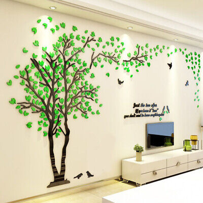 UK Large Personalised Family Tree Wall Art Acrylic Room Decal Sticker Home Decor • 42.99£