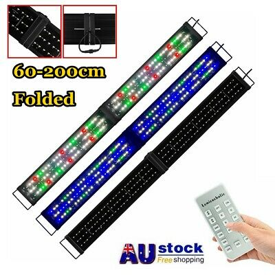 AU104.99 • Buy 2-6ft Aquarium Light RF-Control Lighting Full Spectrum Plant Fish Tank Lamp Bar