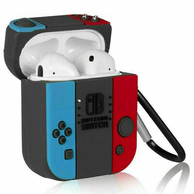 $ CDN10.11 • Buy For Apple AirPods 1/2 Headset NINTENDO SWITCH Silicone Protective Case Cover