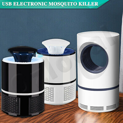 AU14.75 • Buy Electric Mosquito Killer Lamp USB Fly Trap Zapper Catcher Bug Insect Pest Indoor
