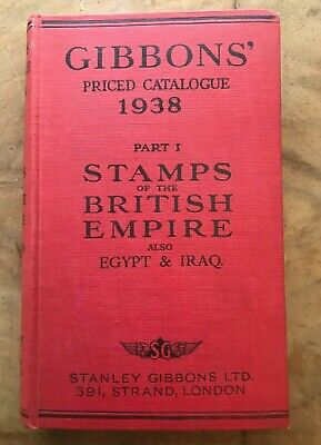 £12.95 • Buy Gibbons' Priced Catalogue 1938: Stamps Of The World , Part I: British Empire