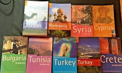 Rough Guide's - Various Travel Books In Good Condition • 2.99£