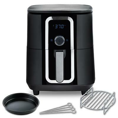 $ CDN129.34 • Buy 7 Qt. Ceramic Family-Size Air Fryer With Accessories And Full Color Recipe Book