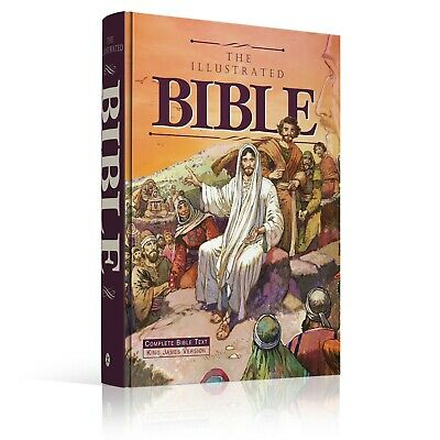 The Illustrated Bible - KJV Hardcover • 28.37£