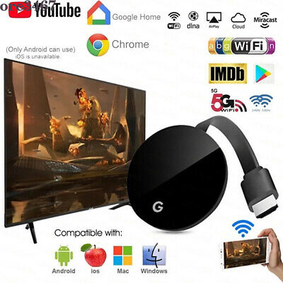 AU29.99 • Buy For Chromecast Chrome Wireless WiFi Receiver TV Stick Dongle Media Streamer HDMI