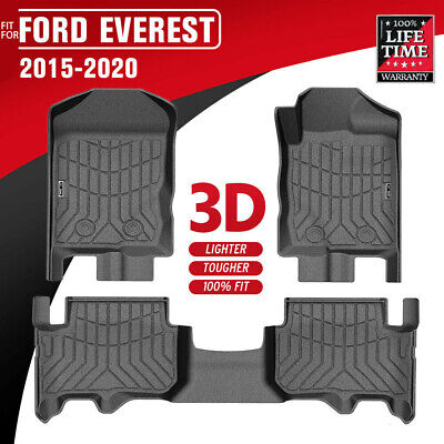 AU135.64 • Buy 3D Floor Mats TPE Liner ABW Fit Ford EVEREST 2015-Current Durable