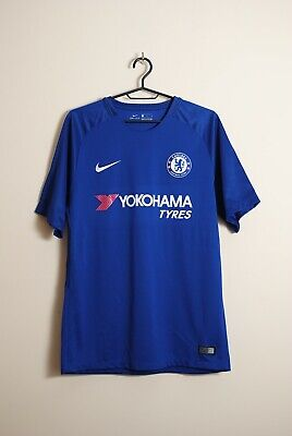 Chelsea F.C. 2017-18 Home Jersey Size M • 31£