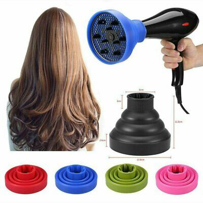 AU11.68 • Buy Silicone Hair Dryer NEW Universal Salon Travel Foldable Diffuser Professional
