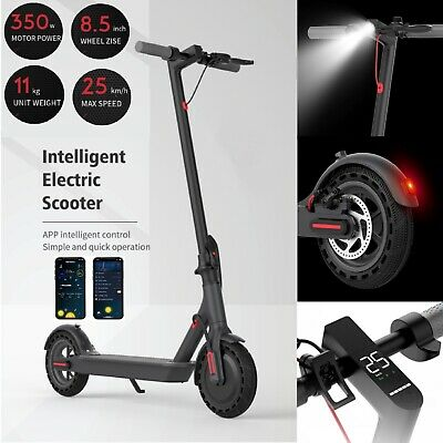 View Details New 2021 Adult Pro Electric Folding E-Scooter 36V 18.5 Mile Range 8.5inch Tire • 249.99£