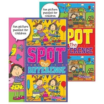 £3.79 • Buy NEW EDITION Children's Kids Boys Girls SPOT THE DIFFERENCE ACTIVITY BOOK PUZZLES