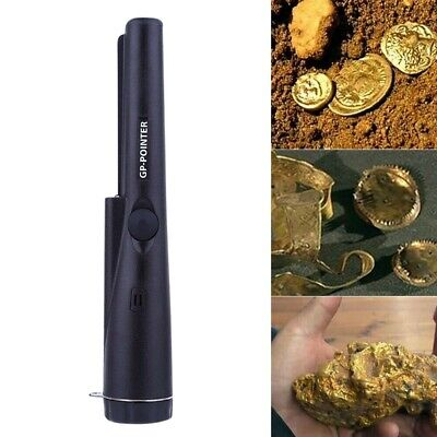 Pinpointer Pin Pointer Handheld Metal Detector Automatic Tuning Gold Tester • 8.99£
