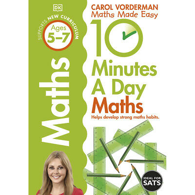 £7 • Buy 10 Minutes A Day: Maths By Carol Vorderman (Paperback), Books, Brand New