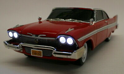 Autoworld 1/18 Scale Metal Model Car AWSS102/06 - 1958 Plymouth Fury - Christine • 129.99£