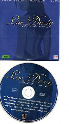 £6 • Buy Eurovision 2005 Rare French Promo Cds In Card Ps Lise Party Tout De Moi