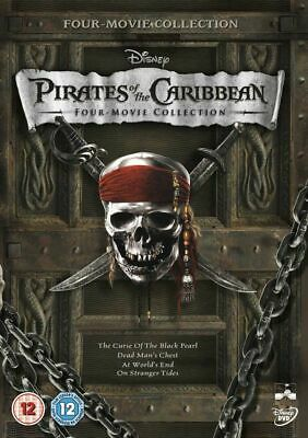 AU29.95 • Buy Pirates Of The Caribbean 4 Movie Collection 1 2 3 4 Johnny Depp New Region 4 DVD