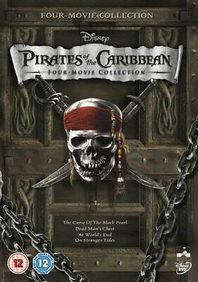 AU24.95 • Buy Pirates Of The Caribbean 4 Movie Collection 1 2 3 4 Johnny Depp New Region 4 DVD