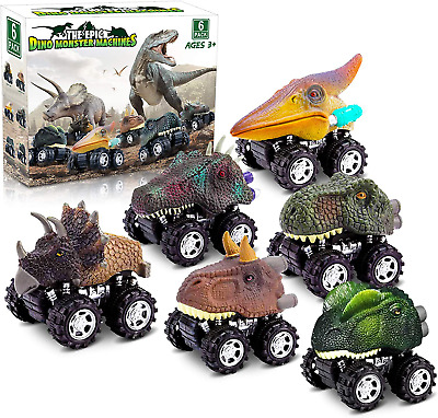 AU24.41 • Buy Dinosaur Toys For 3 Year Old Boys, Pull Back Dinosaur Toys For 5 Year Old Boy 6
