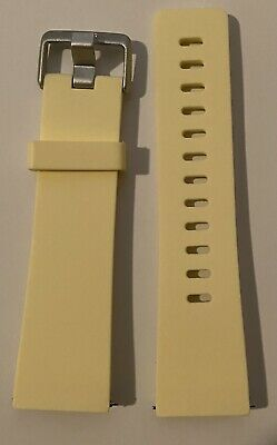 $ CDN6.34 • Buy Elastomer Band For Fitbit Versa- Yellow Size Small