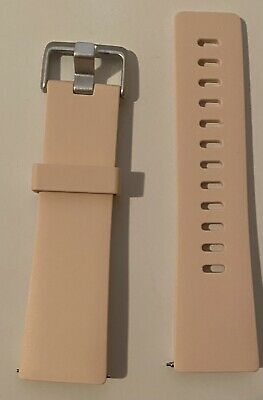 $ CDN6.34 • Buy Elastomer Band For Fitbit Versa- Pink Size Small