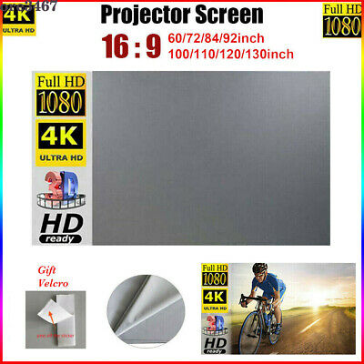 AU54.50 • Buy 3D 60-130  Projector Screen Anti-light Home Outdoor Office Portable Projection