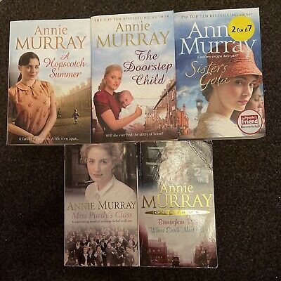 £11.99 • Buy Annie Murray Book Bundle Great Titles - X 5 LOTS LISTED Free Postage (9W)