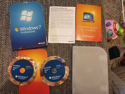 Windows 7 Professional 32/64-Bit DVD FQC-00133 100% Genuine • 49.99£