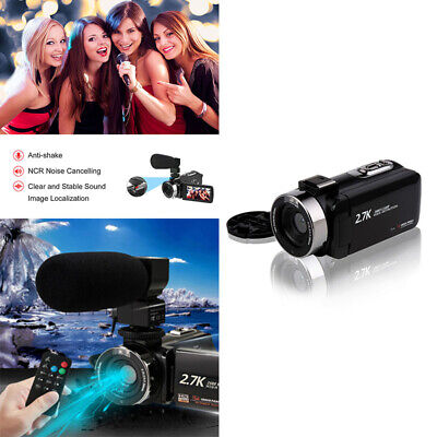 £33.98 • Buy Digital Camera 1080P Video 16X ZOOM 30MP DV Camcorder Recorder With Microphone