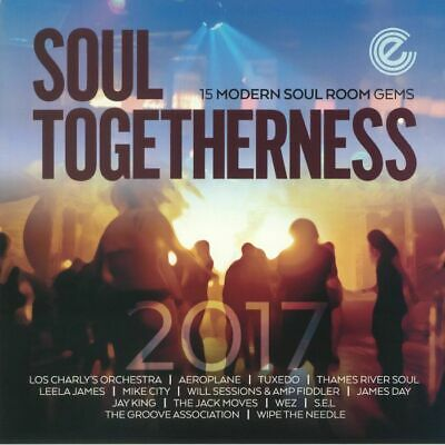 VARIOUS - Soul Togetherness 2017: 15 Modern Soul Room Gems - Vinyl (2xLP) • 23.83£