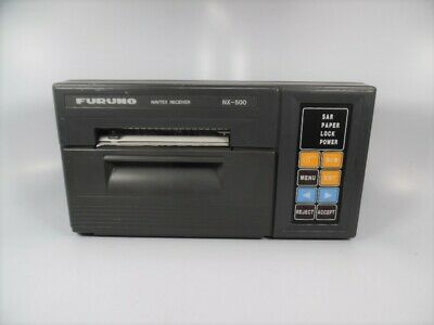 Furuno - NX-500 Navtex Receiver W/ Integral Printer - Power On Test - Good Cond. • 143.04£