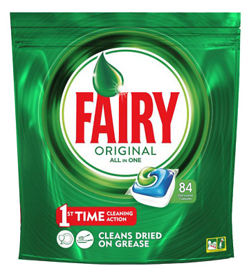 AU73.15 • Buy Dishwasher Capsules Fairy Original 252 Tablets (pack Of 84 X 3)
